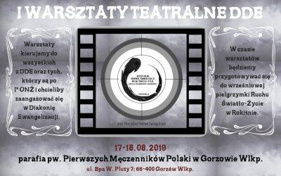 I Warsztaty Teatralne Teatru DDE