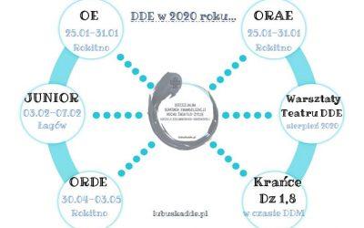 DDE w nowym roku formacyjnym 2019/2020!