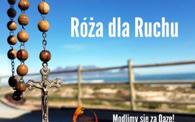 Róża dla Ruchu – modlimy się za Oazę!